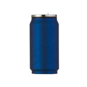 Foto Squeeze de Metal 275ml Fosco CB 5618F azul Imagem (1)